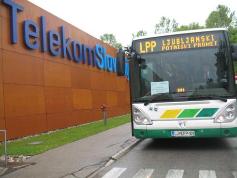 LPP in Telekom Slovenije sta za tri mesece uvedla testni in brezplačni internetni dostop na mestnih avtobusih