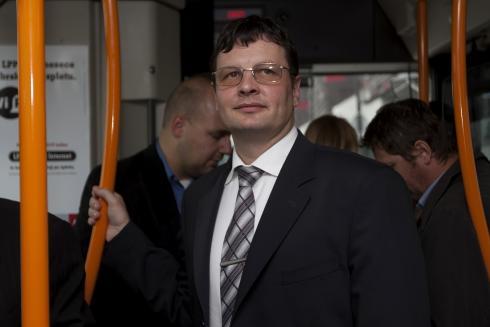 Jošt Šmajdek, vodja prometno komercialne službe LPP